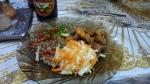 My Almaty to Shymkent restaurant car train dinner